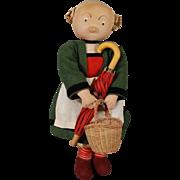 Stockinette Bécassine Doll
