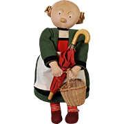 Stockinette Bécassine Doll