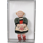 Small Stockinette Bécassine Doll in Display Box
