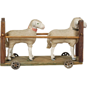 German Sheep Ornament