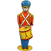 """No. 27 Drum Major"" Wolverine Supply & Mfg. Co. Tin Toy"