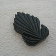 Vintage Deco Celluloid Belt Buckle