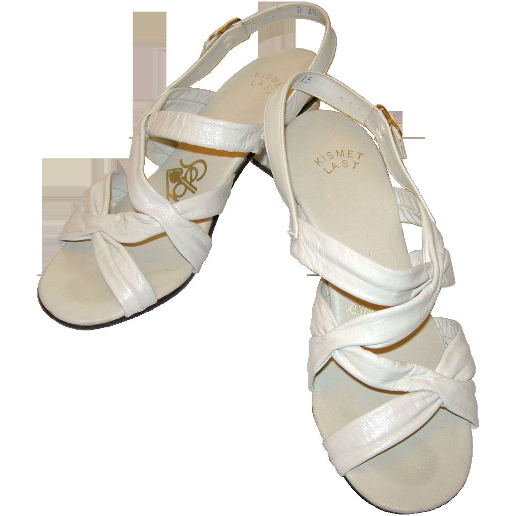 Vintage Leather Sandals 84