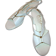 "Vintage White ""Penaljo"" Sandal"