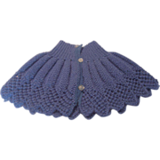 Vintage Child's or Infant Cape Sweater