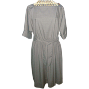 Vintage Pierre Balmain Paris Raglan Style Dress