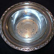 """Richmond Hills Lodge"" Silver-plate Bowl"