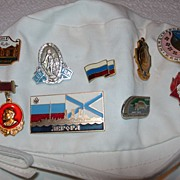 Collection of USSR Pins