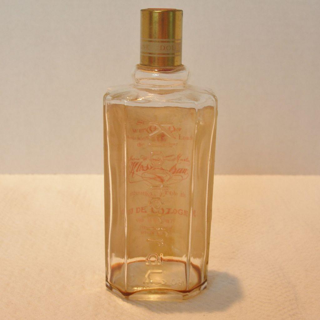 vintage kloster frau cologne bottle from dorothysbling on ruby lane. Black Bedroom Furniture Sets. Home Design Ideas