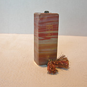 Coty Perfume Bottle with Perfume Circa 1930's