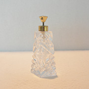 Vintage Art Glass Perfume Atomizer
