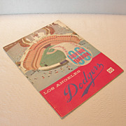 1961 Los Angeles Dodgers Souvenir Yearbook