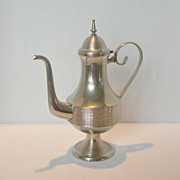 Vintage Metal Coffee Carafe