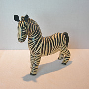 Primitive Style Zebra Model