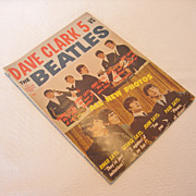 Vintage Dave Clark 5 Vs The Beatles Fan Magazine, 1964