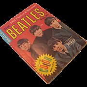 Vintage The Beatles Talk! Fan Magazine, circa 1964