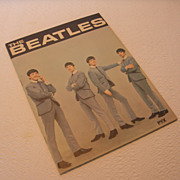 Vintage The Beatles PYX Tour Program Highlight Publications, Inc 1964