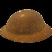 World War I British Metal Helmet