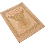 Official Souvenir Program of the Victory Parades, 1919
