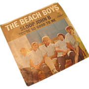 "The Beach Boys 45 rpm ""Sloop John B"""