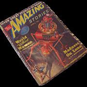 April 1939 Amazing Stories Magazine Vol 13 No. 4