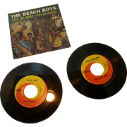 Beach Boys 45 rpm Records