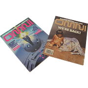 Vintage OMNI Magazines May 1994 and Fall 1995