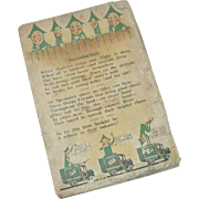 Vintage Wrigley's Spearmint Gum Advertising Poetry Booklet