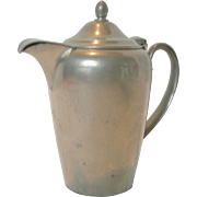 Vintage Colonial Pewter Creamer