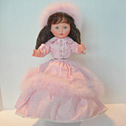 "Vintage Furga 12"" Vinyl Doll"