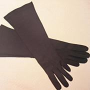 Vintage Elvette Royal Evening Gloves