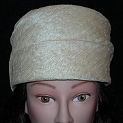 Tall Pillbox Hat