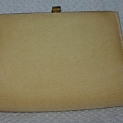 Vintage Gold-Toned Clutch