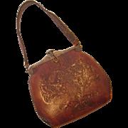Vintage Leather Nocona Handbag