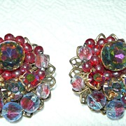 Colorful Vintage Earrings