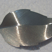 Vintage Sterling Beaucraft Leaf Brooch