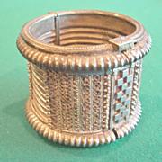 Vintage North African Cuff Bracelet