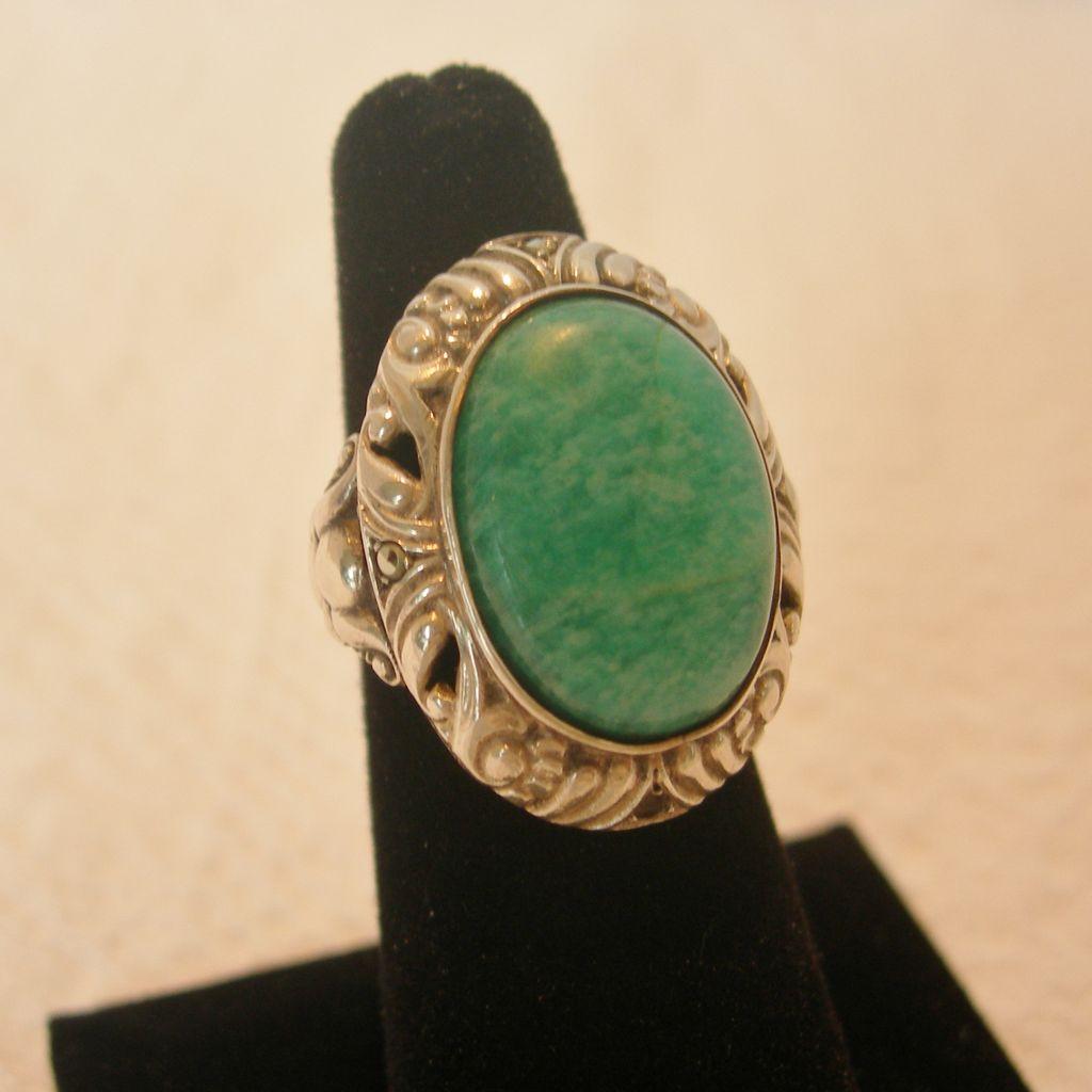 Vintage Silver Ring 88