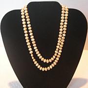 Vintage Les Bernard Faux Freshwater Pearl Necklace