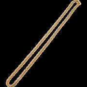 Vintage Avon Snake Chain Necklace