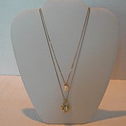 Set of Vintage Givenchy Necklaces