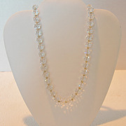 Vintage Napier Crystal Necklace