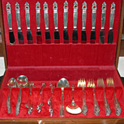 104 Piece Set of International Sterling Flatware...service for 12!