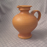 Hand-Crafted West Germany Pitcher