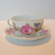 Czech Phoenix China Cup & Saucer Set