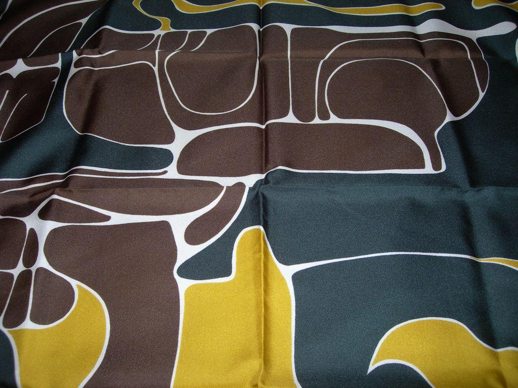 Abstract Print Fashion Scarf