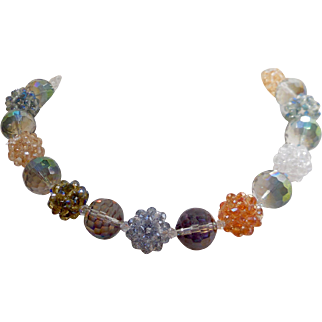 A Fun Go-To Crystal Necklace that will GO with Everything you Wear