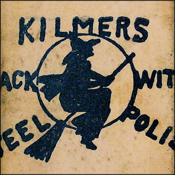 Kilmers Black Witch Steel Polish - Graphic Box - Americana