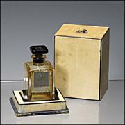 Vintage Arpege Perfume Extrait Bottle and Box