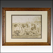 "1908 ""Hartford Acorns"" Football Team Photograph"